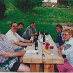 1999 Heinz Acklin, Herbert Müller, Markus Reimann, Richi und Charlotte Mohni, Irene Gloor, Geri Müller