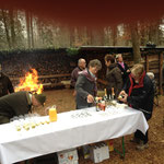 2014  Beisetzung im Holzschopf Ueken