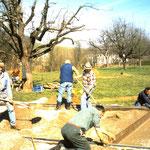 1998 Bau der Bocciabahn