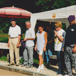 """2000 Marcel Suter, Lupo Müller, """"Salvi"""", Charlotte Mohni, Irene Gloor, Pady Kohler"""