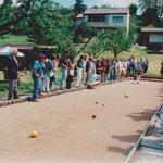 1998 Einweihung Bocciabahn