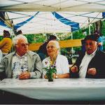 1998 Einweihung Bocciabahn Arthur und Ida Herde, Hans Ott