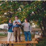1996 1. Turnier: Lupo Müller, Heinz Acklin, Fredy Klaus