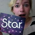 Oh nononononononno! I am not a star :) I am Kasia, hihih!