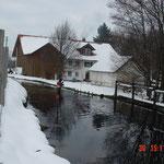 Gewässerprofile im Winter