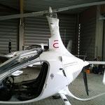Der neue Gyrokopter der Hochschule Anhalt