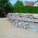 Enrochement pierre naturelle
