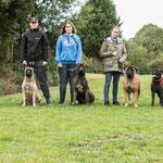 Neeltje 2e van rechts en 4 kinderen (vanaf links: Hannes, Summer, Jack en Kaat). Terugkomdag 2019