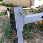 Décapage de la peinture sur métaux