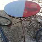 Décapage de la peinture sur métaux - Avant - Après