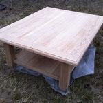 Décapage du vernis sur bois précieux - Après