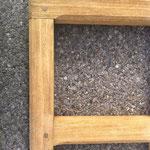 Décapage du vernis sur bois - Après