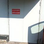 Enlèvement de graffitis sur mur peint - Après