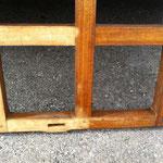 Décapage du vernis sur bois - Pendant