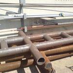 Décapage de la rouille sur métaux - Avant