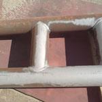 Décapage de la rouille sur métaux - Après