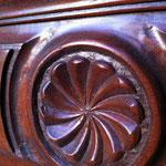 Décapage du vernis sur bois précieux - Avant