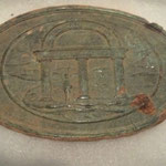 Chris Roberts found this Georgia belt plate at DIV XXI