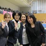藤野朱美先生と審判・staffの皆さん