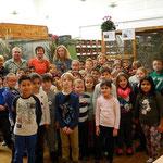 8 Klassen der Volksschule Gloggnitz waren zu Gast