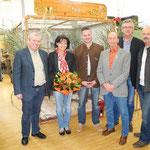 Eröffnung mit Ehrenobmann und Bürgermeistern