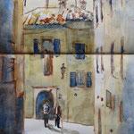 Gasse in Gargnano, 9/2014