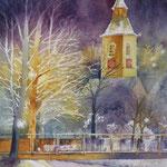 Winternacht in Nagold