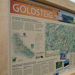 Goldsteig Wanderwegtafel