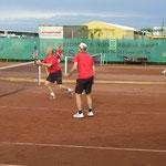 Herbert kurz vorm Verwandeln eines Volleys