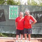 heutiges 3er Doppel: Harry & Rene: präsentieren stolz ihr Ergebnis!