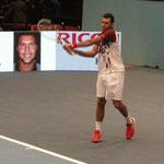 Jo-Wilfried Tsonga spielt sehr stark und erreicht das Finale
