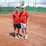 heutiges 2er Doppel: Fritz & Martin