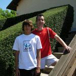 Florian Wallner/Markus Krach: 2. Platz Herrendoppel A