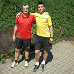 Bravo Markus + Josef: Sieger im Herrendoppel B