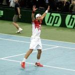 Der Augenblick des Triumphes! Österreich steht im Daviscupviertelfinale!