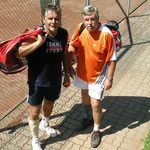 Franz Haller/Hans Falb: 2. Platz Herrendoppel B