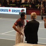 ORF - Siegerinterview on court