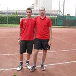 heutiges 1er Doppel: Florian & Fredi