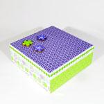 """Schatulle mit Deckel """"lila"""", Preis: 20.- EUR zzgl. Versandkosten, mehr Details unter: http://de.dawanda.com/product/69282075-Schatulle-mit-Deckel-lila"""