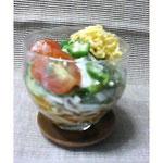 津軽そばのサラダ仕立て