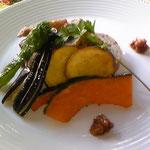 季節野菜とアンチョビ入りソース