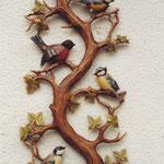 Vogelbaum fertig mit Ollasierung