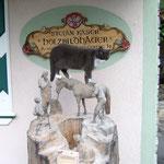Pferdehändler aus Zirbenholz, roh