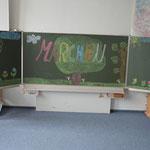 Märchenwerkstatt in der Klasse 5a.