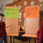 Die VKL-Klasse stellt ihr Programm vor.