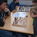 Frederick bringt selbst gekonnte Schachspieler ins Schwitzen.