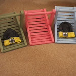 Trugs in different colours