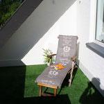 Deckchair zum relaxen