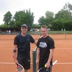 Halbfinale Herren Boris Bauer vs Nick Bromm