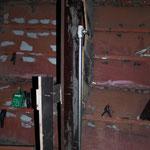 Ansaugleitung für Toilette mit Schablone fürs Schott